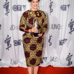 Allan Waters Humanitarian Award Recipient - Arcade Fire (Accepted by Regine Chassagne)